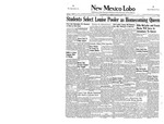 New Mexico Lobo, Volume 040, No 17, 11/10/1937