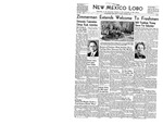 New Mexico Lobo, Volume 044, No 1, 8/26/1941