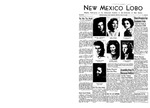New Mexico Lobo, Volume 046, No 41, 5/12/1944 by University of New Mexico