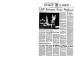 The New Mexico Daily Lobo, Volume 052, No 62, 4/20/1950 by University of New Mexico