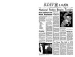 The New Mexico Daily Lobo, Volume 052, No 74, 5/11/1950