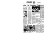 The New Mexico Daily Lobo, Volume 053, No 2, 9/15/1950 by University of New Mexico