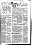 New Mexico Lobo, Volume 055, No 3, 9/18/1952