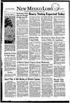 New Mexico Lobo, Volume 055, No 12, 10/9/1952