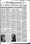 New Mexico Lobo, Volume 055, No 13, 10/10/1952 by University of New Mexico