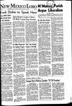 New Mexico Lobo, Volume 055, No 14, 10/14/1952