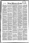 New Mexico Lobo, Volume 055, No 15, 10/16/1952 by University of New Mexico