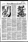 New Mexico Lobo, Volume 055, No 16, 10/17/1952 by University of New Mexico