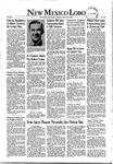New Mexico Lobo, Volume 055, No 20, 10/28/1952 by University of New Mexico