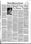 New Mexico Lobo, Volume 055, No 25, 11/7/1952 by University of New Mexico