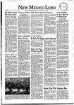 New Mexico Lobo, Volume 055, No 26, 11/11/1952 by University of New Mexico