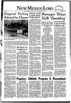 New Mexico Lobo, Volume 055, No 30, 11/20/1952