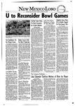 New Mexico Lobo, Volume 055, No 32, 11/25/1952
