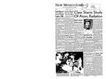 New Mexico Lobo, Volume 060, No 2, 6/21/1956