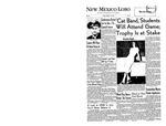 New Mexico Lobo, Volume 060, No 23, 10/19/1956 by University of New Mexico