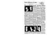 New Mexico Lobo, Volume 060, No 31, 11/8/1956