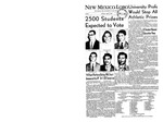 New Mexico Lobo, Volume 060, No 79, 4/9/1957