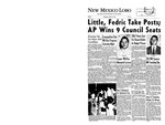 New Mexico Lobo, Volume 060, No 80, 4/11/1957 by University of New Mexico