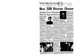 New Mexico Lobo, Volume 061, No 64, 3/25/1958 by University of New Mexico