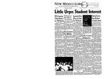 New Mexico Lobo, Volume 061, No 73, 4/24/1958