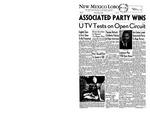New Mexico Lobo, Volume 061, No 77, 5/2/1958 by University of New Mexico