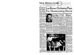 New Mexico Lobo, Volume 062, No 10, 10/10/1958