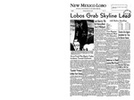 New Mexico Lobo, Volume 062, No 15, 10/28/1958