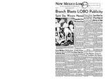 New Mexico Lobo, Volume 063, No 11, 10/13/1959