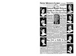 New Mexico Lobo, Volume 063, No 14, 10/20/1959
