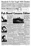 New Mexico Lobo, Volume 063, No 41, 1/14/1960 by University of New Mexico