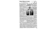 New Mexico Lobo, Volume 064, No 92, 8/11/1961 by University of New Mexico