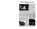 New Mexico Lobo, Volume 071, No 2, 9/18/1967
