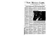 New Mexico Lobo, Volume 071, No 5, 9/22/1967