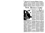 New Mexico Lobo, Volume 071, No 12, 10/5/1967
