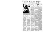 New Mexico Lobo, Volume 071, No 14, 10/9/1967 by University of New Mexico