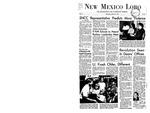 New Mexico Lobo, Volume 071, No 23, 10/25/1967 by University of New Mexico
