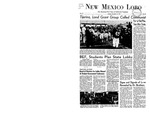New Mexico Lobo, Volume 071, No 32, 11/13/1967 by University of New Mexico