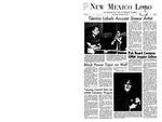 New Mexico Lobo, Volume 071, No 33, 11/15/1967 by University of New Mexico