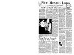 New Mexico Lobo, Volume 071, No 45, 12/8/1967 by University of New Mexico