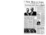 New Mexico Lobo, Volume 071, No 46, 12/11/1967 by University of New Mexico