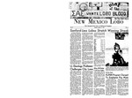 New Mexico Lobo, Volume 071, No 54, 1/8/1968 by University of New Mexico