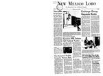 New Mexico Lobo, Volume 071, No 60, 2/9/1968 by University of New Mexico