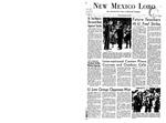 New Mexico Lobo, Volume 071, No 69, 2/26/1968 by University of New Mexico