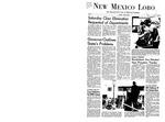 New Mexico Lobo, Volume 071, No 101, 4/29/1968