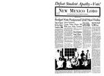 New Mexico Lobo, Volume 071, No 104, 5/3/1968 by University of New Mexico