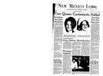 New Mexico Lobo, Volume 071, No 110, 5/15/1968 by University of New Mexico