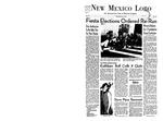 New Mexico Lobo, Volume 071, No 111, 5/16/1968 by University of New Mexico