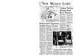 New Mexico Lobo, Volume 072, No 3, 9/17/1968 by University of New Mexico