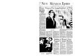 New Mexico Lobo, Volume 072, No 10, 9/26/1968 by University of New Mexico