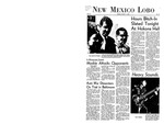 New Mexico Lobo, Volume 072, No 17, 10/7/1968 by University of New Mexico
